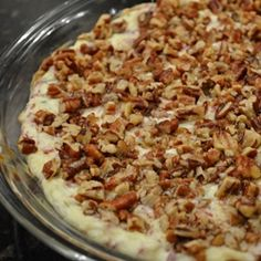 Old Philadelphia Pecan Dip!! Just have to click & click again on the pic. of Old Philadelphia Pecan Dip to get the Recipe!! :-)