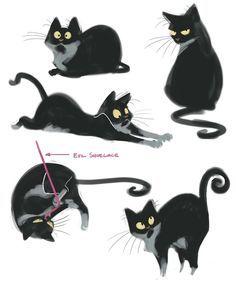 31 Super ideas for drawing cartoon cat character design Cat Character, Character Drawing, Character Concept, Animation, Desenho New School, Illustration Vector, Creature Design, Animal Design, Cat Design