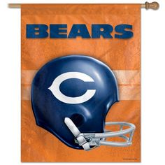 "CHICAGO BEARS / CLASSIC LOGO Vertical Flag 27"""" x 37"""""