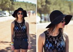 ELLE Style Reporter Niquita Bento went snap crazy at last weekend's Rocking the Daisies, bringing you. Daisies, Festival Fashion, Playing Dress Up, Street Style, Tank Tops, Bento, Stylish, Blackberry, Outfits