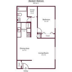 Single Bedroom House Plans 650 Square Feet Home Plans Ideas