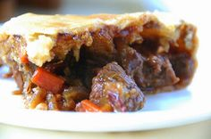 Recipe | Beef & Wine Pot Pie ~ Fabulous Beef Burgundy, All Dressed Up ...