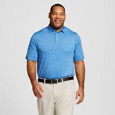 Men's Big & Tall Space Dye Golf Polo