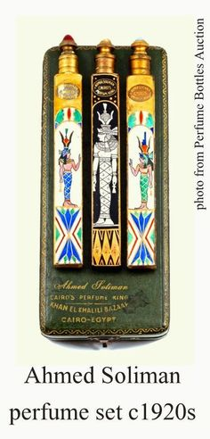 «Будуар Клеопатры»: парфюмерные парфюмеры с египетскими темами