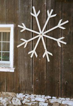 Résultats de recherche d'images pour «flocons neige DIY wood»