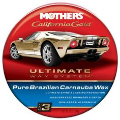 MOTHERS 5550-6 California Gold Pure Brazilian Carnauba Paste Wax - 12 oz., (Pack of 6) - http://www.productsforautomotive.com/mothers-5550-6-california-gold-pure-brazilian-carnauba-paste-wax-12-oz-pack-of-6/
