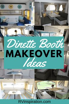Oftentimes we only need a little inspiration to be able to start a project. If you're looking to renovate your RV dining booth, here are makeover ideas for you to gloss over. Click to browse! Travel Trailer Camping, Travel Trailer Remodel, Camping Hacks, Camping Gear, Rv Travel, Camping Stuff, Camping Outdoors, Camping Activities, Travel Trailers