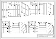 Container Ombouw Maken? Bouwtekening Kliko Ombouw + Tips Planning And Organizing, Organize Your Life, Floor Plans, Home And Garden, Organization, How To Plan, Design, Crown, Seeds