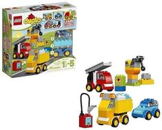 Lego Duplo My First Cars and Trucks 36 Pieces Building Set Kids Toy Gift New Toys For 1 Year Old, 1 Year Olds, Lego Duplo, Trucks, Cars, Learning, Building, Gift, Ebay