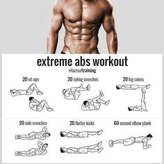 Extreme ABS workout - weighteasyloss.com