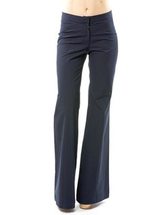 Wide Leg Pant in Navy by BECKLEY by Melissa $114  (Can't afford it.  But I can dream, can't I?