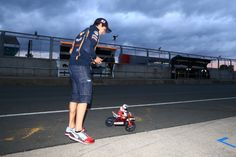 Marquez and radio controlled bike, stay as young as you can Marc.. :)