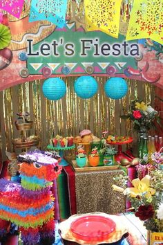 Fantastic fiesta birthday party! See more party ideas at CatchMyParty.com!