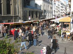 Market Day, Les Halles, Paris