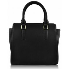 Black Grab Tote #HandBag Buy here @ http://www.completethelookz.co.uk/fashion-accessories/fashion-handbags/black-grab-tote-bag-fashion-handbag