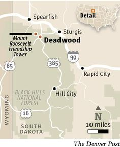 Searching for the ghosts of old Deadwood in the Black Hills - The Denver Post
