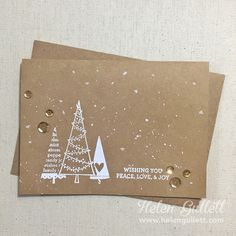 Wishing You Peace, Love and Joy by byHelenG - Cards and Paper Crafts at Splitcoaststampers