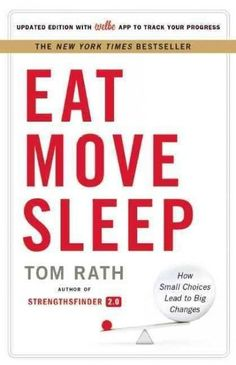 Once in a while, a book comes along that changes how you think, feel, and act every day. In Eat Move Sleep, #1 New York Times bestselling author Tom Rath delivers a book that will improve your health