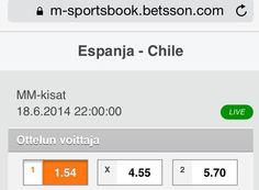 Ennakko: Espanja v Chile  http://puoliaika.com/?p=10429 ( #b-lohko #betsson #betsson vedonlyönti #betting #brazil 2014 #Chile #David Villa #Diego Costa #Espanja #FIFA World Cup 2014 #gary medel #group b #lohko b #mm 2014 #MM-Kisat #mm-kisat brasilia #mm2014 #Puoliaika #puoliaika toimitus #puoliaika.com #puoliaika.com toimitus #spain #sports betting #vedonlyönti #World Cup)