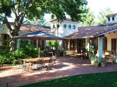 10 Spanish-Inspired Outdoor Spaces | Outdoor Spaces - Patio Ideas, Decks & Gardens | HGTV