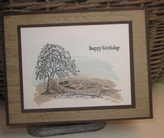 Stampin' Up!, Moon Lake, Work of Art, Teeny Tiny Wishes