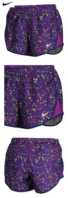 d2edf39828b1  17.95 - Nike Women sDRi-Fit Lotus Modern Tempo Running Shorts -Purple Blu Grn-XS