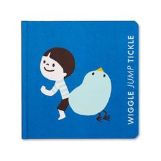 """This adorable board book of actions encourages babies and toddlers to explore the world around them with confidence and joy. The playful illustrations and key words introduce you and your little one to a shared language of empathy, connection, and emotional intelligence. A fun and gentle way to support early communication skills and ideal for sharing at playtime or story time. * Wibalin cover with neon inks * 7""""W x 7""""H * 24 pages"""