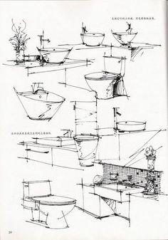 Toilets sketch