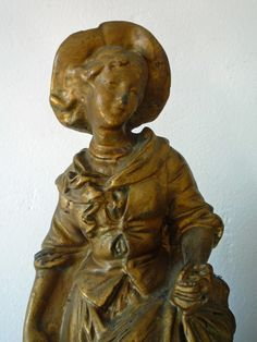 French chalkware statue