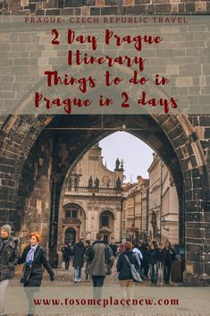 Get the most of your 2 day trip to Prague. Visit the old town, book a ghost tour and savour some amazing Czech cuisine and beer! #prague #itinerary