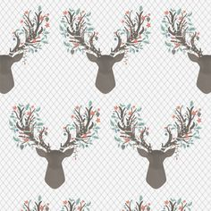 Hawthorne Threads - Winter Fawn - Going Stag in Winter