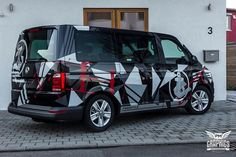M T C H B X Design Folierung VW T6 Bus by SchwabenFolia 2 photo