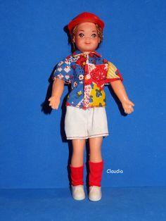 Vintage European Todd Doll in Zum Spielplatz Playground 7485 Near Mint Complete…