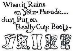 Rain quote via Carol's Country Sunshine on Facebook