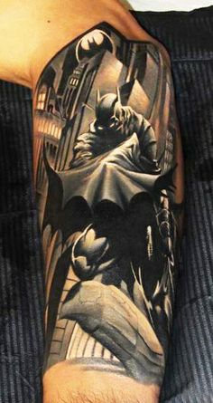"""I'm the Batman by Piotr """"Deadi"""" Dedel .. bro would love this.  sweet ass shit!"""