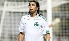 Sebastian Leto-Panathinaikos F.C 23 Football Players, Chef Jackets, Greek, Mens Tops, T Shirt, Life, Fashion, Supreme T Shirt, Moda