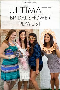 Putting together music for a bridal shower? Check out our playlist of over two hours of music for your wedding celebration! | Photograph by Genevieve Leiper Photography