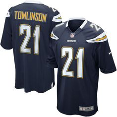 LaDainian Tomlinson San Diego Chargers Nike Retired Player Game Jersey - Navy