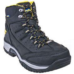 Goodyear Footwear Men's GY7664 Waterproof Steel Toe Black Hiking Boots