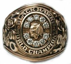 chicago+blackhawks+ring+ | Chicago Blackhawks - 1961 Stanley Cup Ring