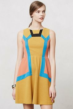 Chromatography Dress #anthropologie  I have to have this!  I don't know if the color will work for me, but I think its worth the risk!