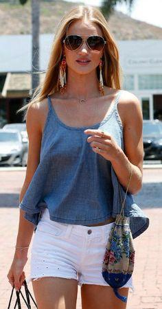 Rosie Huntington-Whiteley Summer Style