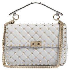 fa203f8e08 Women s Valentino Rockstud Spike Medium Shoulder Bag (63.206.120 VND) ❤  liked on