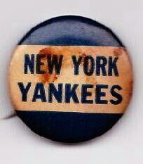 Vintage NY Yankees pin