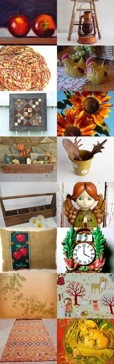 Autumn Treasures by Diane Waters on Etsy--Pinned with TreasuryPin.com