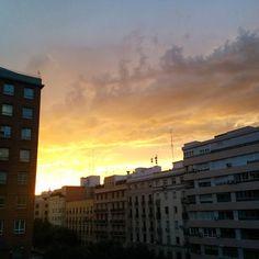 #sunsets #madrid