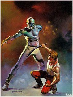 Boris Vallejo '80s | Fantasy Art | #Design