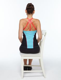 Strengthening your shoulders could prevent back pain.  This easy move can be done multiple times per day.