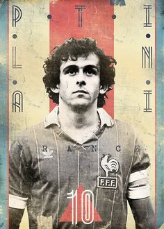 The Gods Of Football (Part II) by Marija Marković on Behance — Michel Platini, France Football Awards, Football Icon, Football Art, World Football, Football Stadiums, Vintage Football, Football Moms, Michel Platini, God Of Football