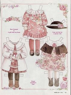 Lots of printables.  Don't watste time clicking every paper doll in sight--most are printable.  D  Florance's Clothes